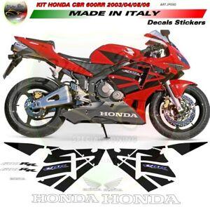 "Kit adesivi design esclusivo - Honda CBR 600RR 2003/2004/2005/2006 ""JP030"""