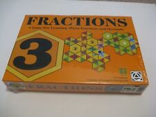 Fractions Game Decimals. Ages 5-12 Creative Toys. Homeschool. New Factory Sealed