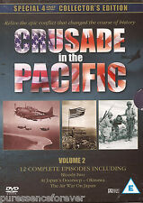 CRUSADE IN THE PACIFIC V2: SPECIAL COLLECTORS EDITION (PAL R0 Four DVD Box Set)