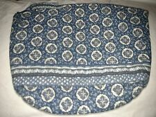 *Vera Bradley Retired Indigo Large Cosmetic Bag *