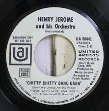 Soundtrack Chitty Chitty Bang Bang 45 Henry Jerome And His Orchestra - Chitty Ch