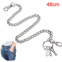 48cm Hip Hop Metal Keychain Key Wallet Belt Ring Clip Biker Jean Pan Waist-Ch ¾q