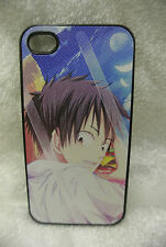 USA Seller Apple iPhone 4 & 4S Anime Phone case  One Piece Monkey D Luffy