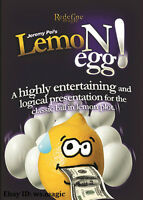 LemoNegg 2.0 by Jeremy Pei Magic Trick Lemon Egg Parlor Stage Close Up Street JL