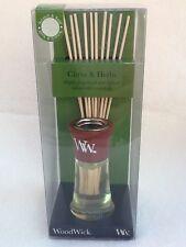 WoodWick Reed Diffuser - 2 oz (59.147ml)  Citrus & Herbs