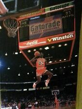 "NBA Chicago Bulls MICHAEL JORDAN (Jump Shot) 16"" x 24"" Framed Canvas Print"