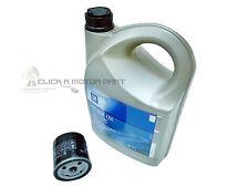 VAUXHALL ZAFIRA 2.0 TURBO VXR SERVICE KIT OIL FILTER & 5W30 GM ENGINE OIL 5LT