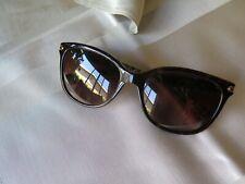 Coach 529113 Dark Brown Tortoise Military Sunglasses Gradient Lens