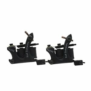 2 COUNT Coil Tattoo Machine Alloy Frame Machine Guns Set for Liner and Shader