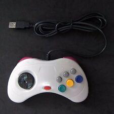 New Retro Sega Saturn SS for to PC Mac USB Classic Controller Link Gamepad Gray