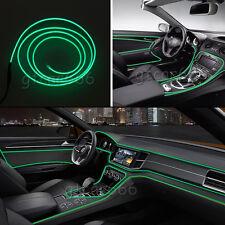 3M 12V Car LED EL Wire Green Cold Light Strip Neon bar Unique Atmosphere Lights