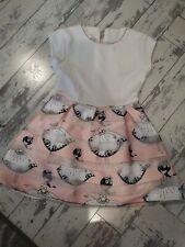 Girls Dress Age 3-4 Pink Dancer