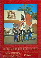 Marine Corps Recruit Depot Yearbook San Diego Platoon 2123 Dec 1976  Mar 1977