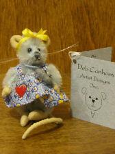 "Deb Canham Artist Designs Fifi, Mini Mices Coll. 2.75"" Led mohair"