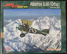 Hit Kit - Albatros D.III (Öffag) 253 - 1:72 - Flugzeug Modellbausatz - Model Kit