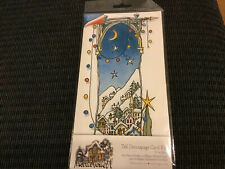 Docrafts - Micheal Powell - White Christmas - Tall Decoupage Card Kit New
