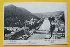 AK Bad Ems 1903 Blick v Concordia Turm Ortsansicht Straßen Häuser Hotels ++ RP13