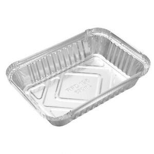 10X Aluminum Disposable Foil BBQ Drip Pan Baking Cooking Tray Foil Tin