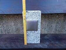 Gartensteckdose Granit Edelstahl Außensteckdose Steckdosensäule für Lichterkette