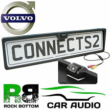 VOLVO Rear View Reversing Parking Colour Camera & Car Number Plate Frame