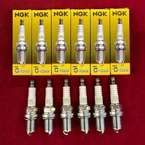 Set of 6: OEM Authentic NGK G-Power Platinum Spark Plugs BKR6EGP 7092 Free Ship
