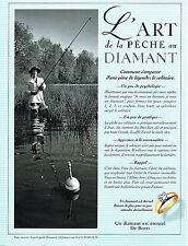 PUBLICITE ADVERTISING 104  1996  DE BEERS joaillier   LE DIAMANT