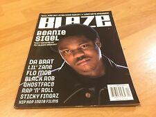 BLAZE Magazine BEANIE SIGEL #15 2000 Wu-Tang Rap Hip Hop Source Da Brat Bad Boy