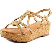 Calzado de mujer sandalias con tiras de charol talla 38