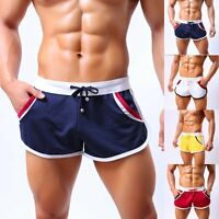 Men Sexy Sport Bodybuilding Shorts Fitness Running GYM Summer Casual Short Pants