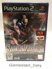 SAMURAI WARRIORS - SONY PS2 - VIDEOGIOCO NUOVO SIGILLATO - NEW SEALED PAL