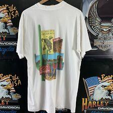 Vintage 90s Marlboro Tshirt Graphic Print Retro Pocket Tee Grunge