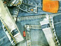 *HOT VINTAGE LVC 140 yrs Men LEVI'S 702XX BIG E REDLINE Jeans 32x34 (Fit 30 x33)