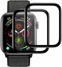2x 3D Hartglas für Apple Watch Series 6 / SE - 40 mm Panzerfolie Full CURVED 9H