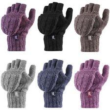 Heat Holders - Donna Convertitore Invernali Fantasia Caldi Guanti senza dita