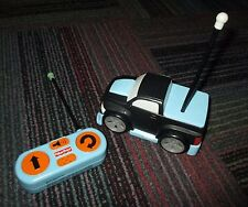 FISHER PRICE TUFF RUMBLIN EZ-DRIVE RC PICK-UP TRUCK TOY W/ REMOTE CONTROL, GUC