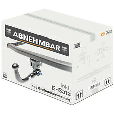 AHK abnehmbar vert Renault Megane II Kombi 03/09 +7p E-Satz mit Blinküberwachung