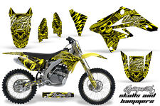 AMR Racing Suzuki RMZ250 Graphics Decals Number Plate Kit MX Wrap 07-09 HISH YLW