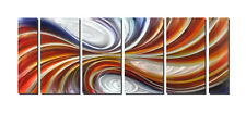 Vortex Abstract Painting Metal Wall Art Contemporary Sculpture Ready to Hang