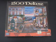 CAFE DES MUSES by John O'Brien -  Mega 1500 piece puzzle - NEW