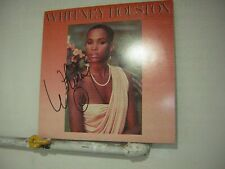Whitney Houston Signed LP 1986 Self Titled