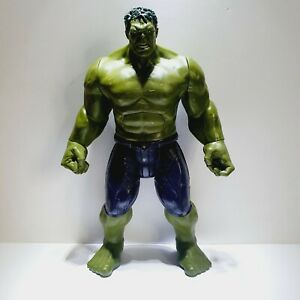 THE INCREDIBLE HULK 12'' INCH ACTION FIGURE MARVEL AVENGERS ELECTRONIC TALKING