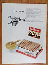 1953 Dutch Masters Cigar Ad   The Spur