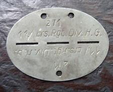 original WH  Erk.-Marke  Luftwaffe Div. H.G.