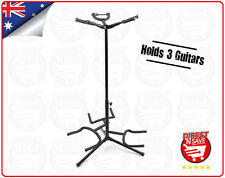 Guitar Tree Stand Multi Holds 3 w/Legs & Locks Black GS-3