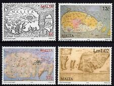 Malta 2005 Old Maps Complete Set SG 1401 - 1404 Unmounted Mint