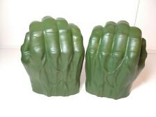 Marvel Hasbro 2015 Avengers Incredible Hulk Open Grip Green Foam Gloves/Hands