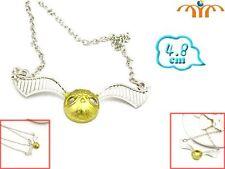 Colgante Snicht Dorada Golden Necklace Harry Potter SHIPS WORLDWIDE