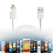 2.4A 1m Magnetic Micro USB Charger Adapter Charge Cable Cord for Samsung HTC LG