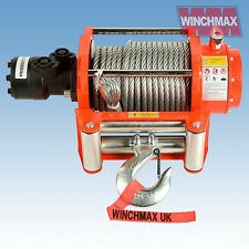 IDRAULICO MANOVELLA 9072kg winchmax ORIGINALE ARANCIO manovella,Acciaio Cinghia