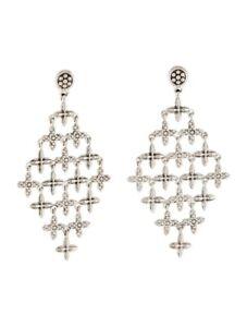 LAGOS - Caviar Sterling Silver Chandelier Earrings